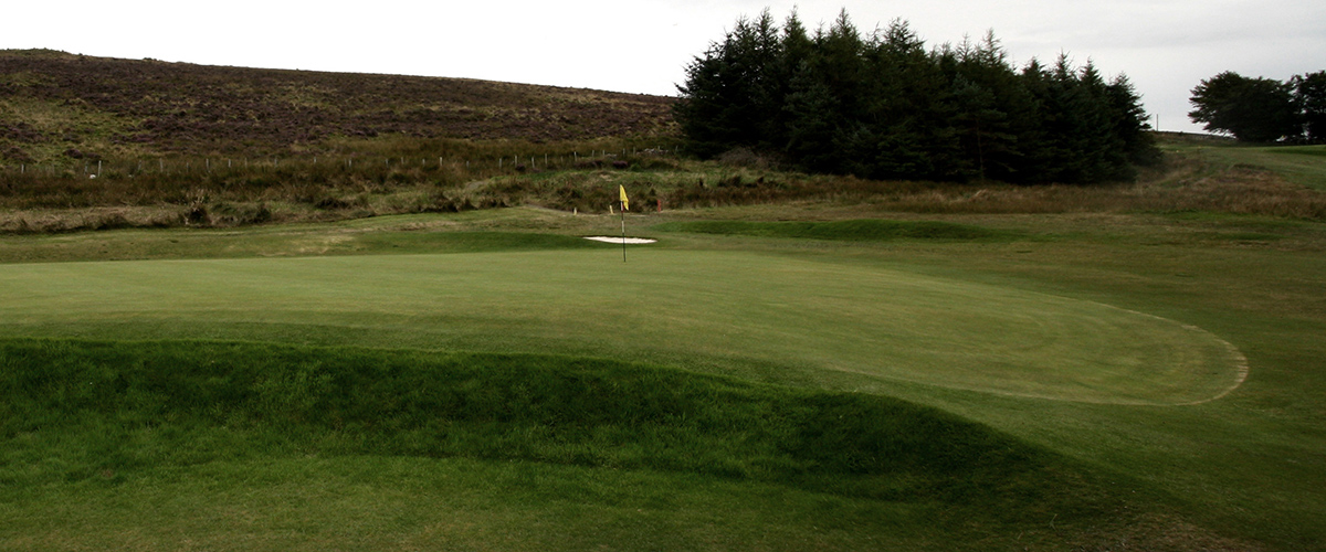 From the left side of the par 3 - 8th green.
