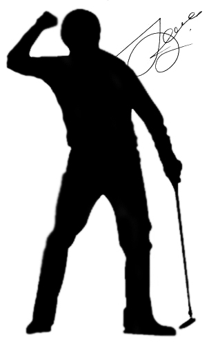 Golfer Celebration Image