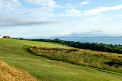 Looking south from the 18th over the 5th fairway.