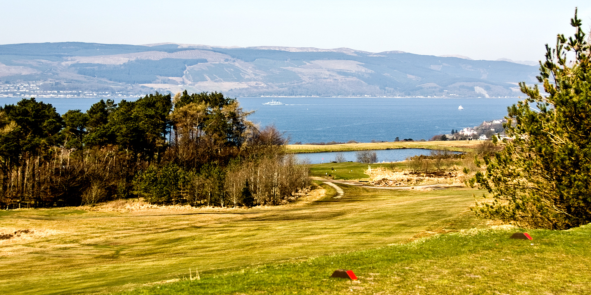 6th Fairway from the 7th Tee